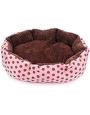 Antideslizante de Almohadilla para Dormir de Mascotas Cama de Mascotas de Felpa Suave Caliente