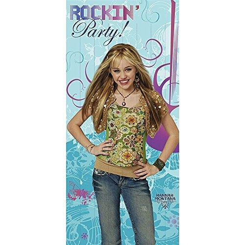 Hannah Montana Walk-Through Door Banner (Walk Through Door Banner)