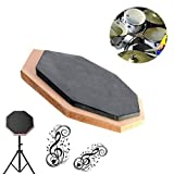 6 Inch Dumb Pad Exercise Mat Blow Plate Drummer Rubber Double (Usa)