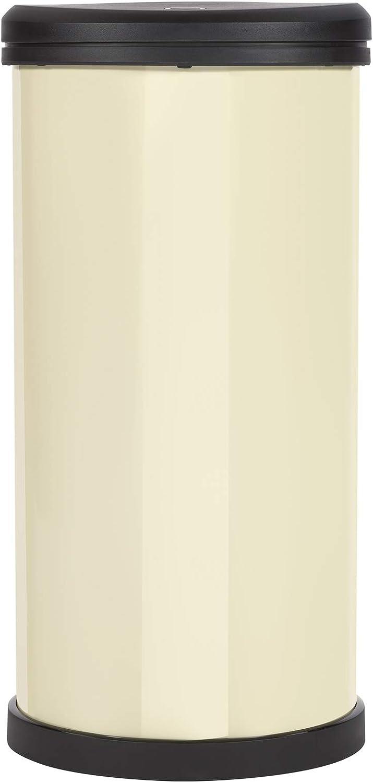 Blanco CURVER Deco Bin Cubo de Basura de 40 L