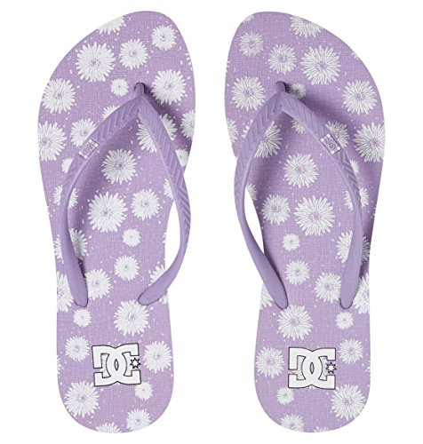 Spray Shoes Violet J Femme Tongs DC Graffik SNDL Lilac q5dqxS