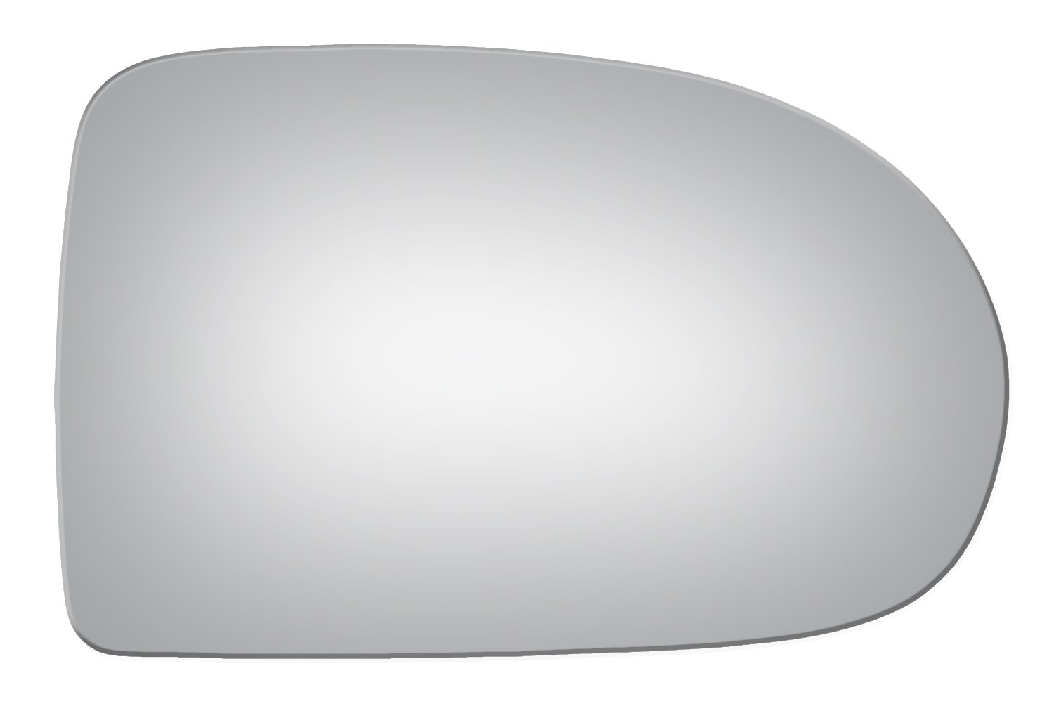 2007-2015 JEEP COMPASS Convex Passenger Side Replacement Mirror Glass