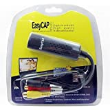 وصلة EasyCap لنقل الفيديوهات من الكاميرات و الرسيفر للكمبيوتر