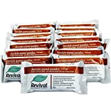 Revival Low-Carb Chocolate Peanut Paradise Soy Protein Bar, 20g of Natural Soy Protein, Approx. 160mg of Soy Isoflavones, Low-glycemic, Plant Based Protein, Kosher, Low-fat, Low-carb, Non-GMO, 15 Bars