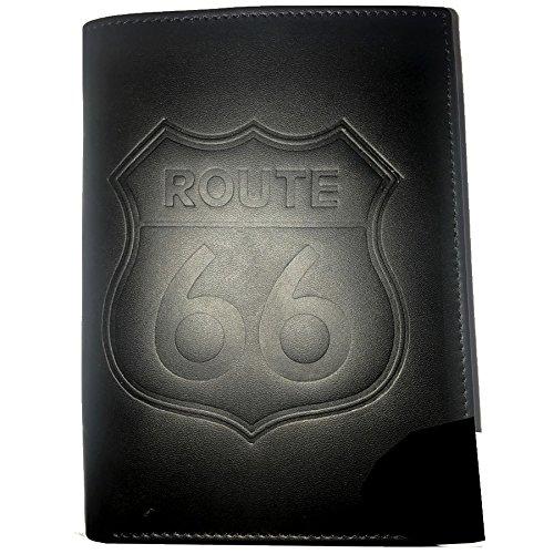 Biker Europe Portefeuille Route Noir Format Cuir 66 dx4r4
