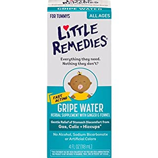 Little Remedies Fast Acting Gripe Water   Safe for Newborns   4 FL OZ