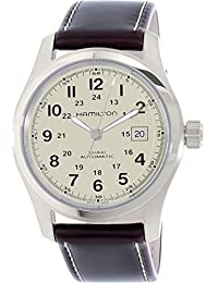 Hamilton Men's Field H70555523 Brown Leather Swiss Automatic Watch