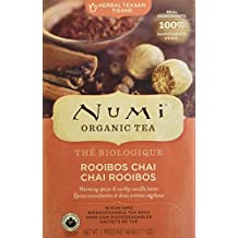 Numi Rooibos Chai, 18-Count