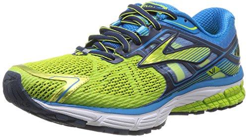 Brooks Hommes Ravenne 6 M Chaussures De Course, Blues M.blue/lime/dress~~number=plural Blanc