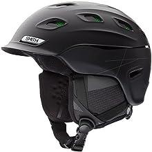 Smith Optics Unisex Adult Vantage Snow Sports Helmet - Matte Black Medium (55-59CM)
