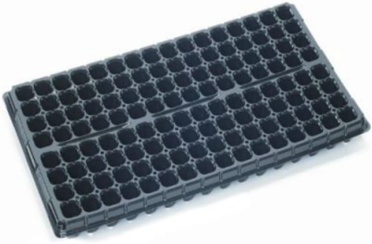 Bandeja semillero para Germinación / Esqueje Jiffy Block - 128 Alveólos (54x28cm)