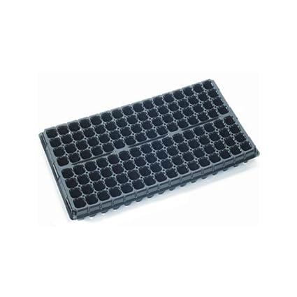 Bandeja semillero de Germinación / Esqueje Jiffy Block - 128 Alveólos (54x28cm)