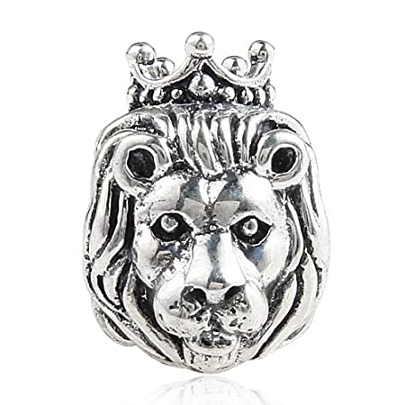 407170ec5 ... wholesale lion king of the jungle 925 sterling silver bead fits pandora  charm bracelet by the