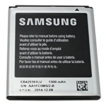 Genuine OEM Samsung 1500mah Battery EB425161LA EB425161LU for Samsung phones Galaxy S3 SIII Mini i8190 Exhibit T599 S Duos S7562 Galaxy Ace 2 (Non-Retail Pack)