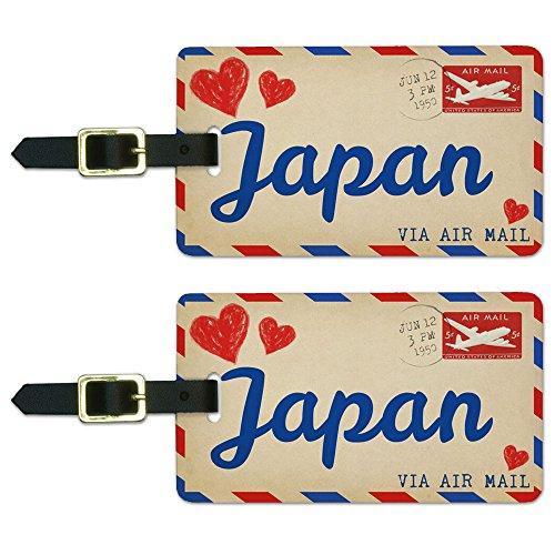 Postcard Japan Luggage Suitcase Carry