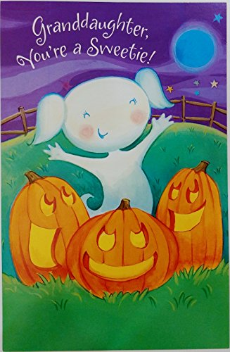 Granddaughter You're a Sweetie - Happy Halloween Greeting Card