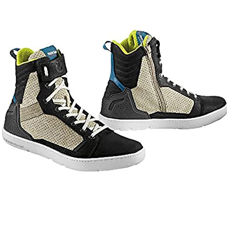 BMW Motorrad - Zapatillas deportivas Ride para moto, de color gris/beis 45: Amazon.es: Coche y moto