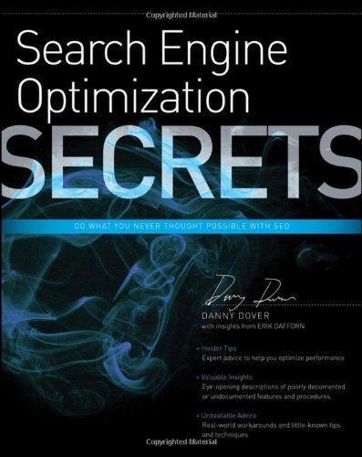Search Engine Optimization (SEO) Secrets by Danny Dover (18-Mar-2011) Paperback