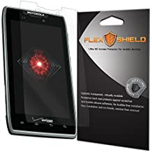 Motorola Droid RAZR Screen Protector (5-Pack), Flex Shield Clear Screen Protector for Motorola Droid RAZR (XT912) Bubble-Free and Scratch Resistant Film