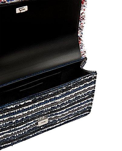 Zara Donna Borsa tracolla tessuto 8441/204