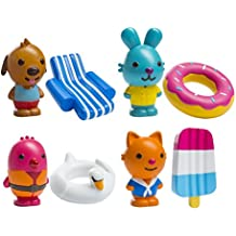 Sago Mini - Easy Clean Bath Squirters and Floaties - Gift Pack