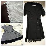 IDONGCAI White Dress Lace Trims,Wedding Applique,3
