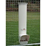 Royal Rooster Chicken Poultry Feeder with Rain Cover – 6.5 Pound Capacity