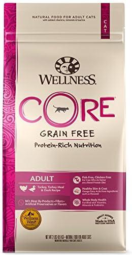 Wellness Core Natural Grain Free Dry Cat Food Turkey Duck