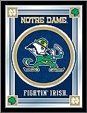NCAA Notre Dame Fighting Irish ''Leprechaun'' Logo Mirror, 17 X 22-Inch