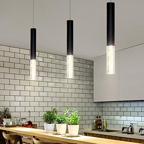 Led Pendelleuchte Zylinder Licht Kuche Insel Esszimmer Shop Theke