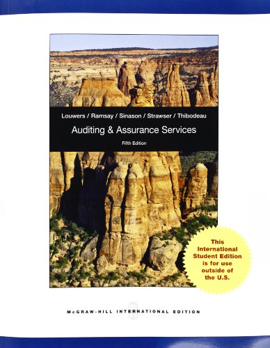auditing and assurance services 5th edition pdf