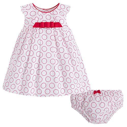 538105f145997 Mayoral Newborn Baby Girls 0M-12M Red/White Polkad Dot Printed Cotton Dress,