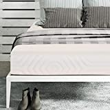 "Sleep Spa Premium Orthopaedic 8"" King Size Memory Foam Mattress (Beige,78X72X8)"