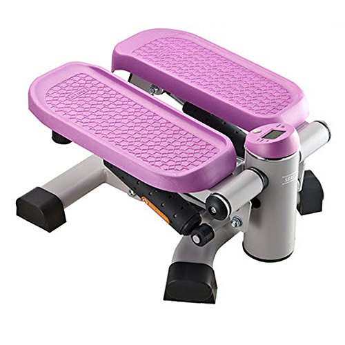 [ShawnLee] 2 in 1 Stepper for Aerobic exercise Lower Body muscular strength reinforcement & Free Gift (Tape Measure) (Smoky Pink) by ShawnLee