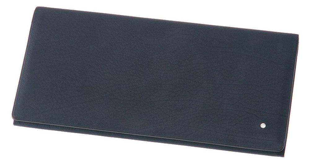 【キプリス】長財布(風琴マチ束入小銭入れなし)■オルナートレーニア B073F5M7M4 ネイビー ネイビー