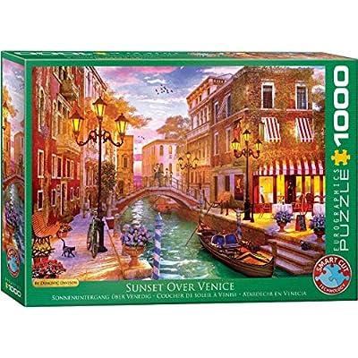 EuroGraphics (EURHR Venetian Romance 1000Piece Puzzle 1000Piece Jigsaw Puzzle: Toys & Games
