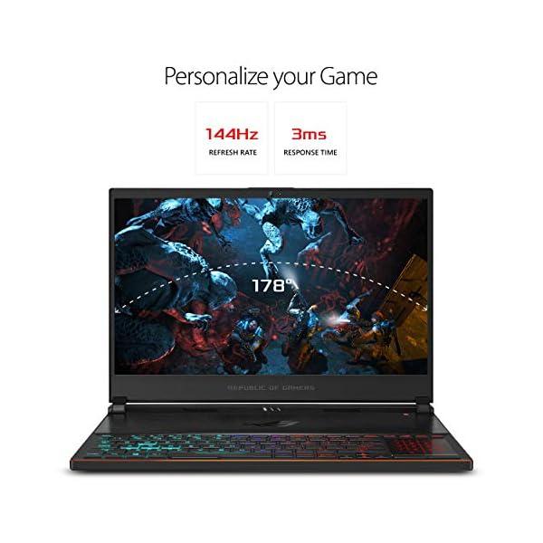"ASUS ROG Zephyrus S Ultra Slim Gaming PC Laptop, 15.6"" 144Hz IPS-Type, Intel i7-8750H Processor, GeForce GTX 1070, 16GB… 2"