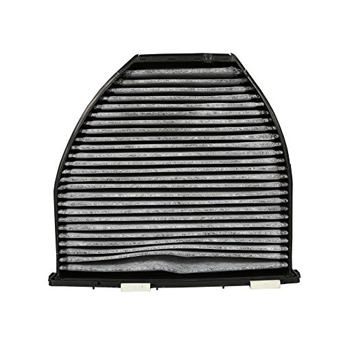Qiilu Car Cabin Air Filter For Mercedes Benz AMG GT S C250 C300 Includes Activated Carbon (CUK29005) by Qiilu (Image #6)