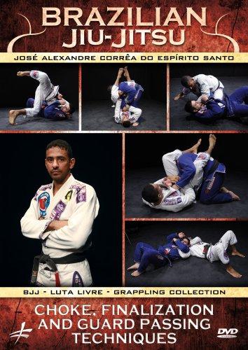 Brazilian Jiu-Jitsu: Choke, Finalization and Guard Passing Techniques