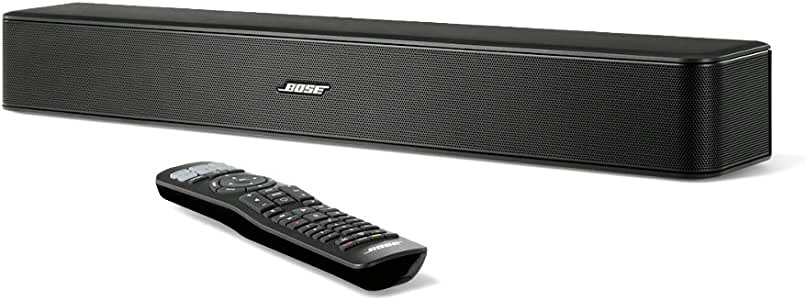 Bose Solo 5 TV Sound System Soundbar, Black
