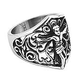james avery ring cross - Corykeyes Stainless Steel Religion Vintage Cross Jesus Ring For Men Size10