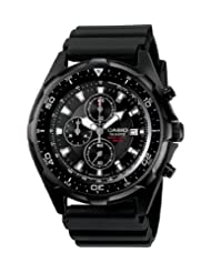 Casio Men's Diver Watch Black AMW330B-1AV