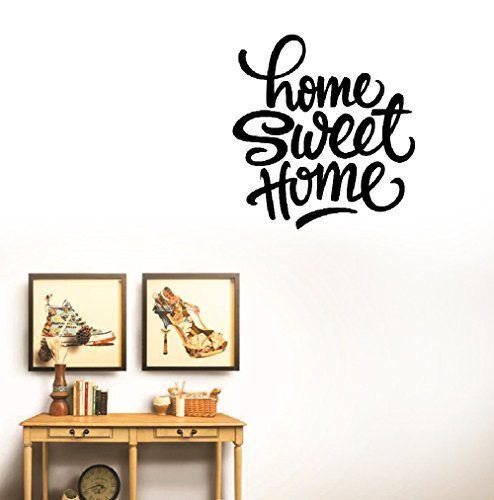 DIY Art Decals Vinyl Removable Stickers Home Sweet Home for Home -