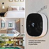 TOUCAN Add-On Doorbell Chime, Wireless, Battery