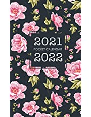 2021-2022 Pocket Calendar: Monthly 2 Year Appointment Planner | 2021-2022 Two Year Calendar Small Size | 24 Months Agenda Schedule Organizer with Holiday