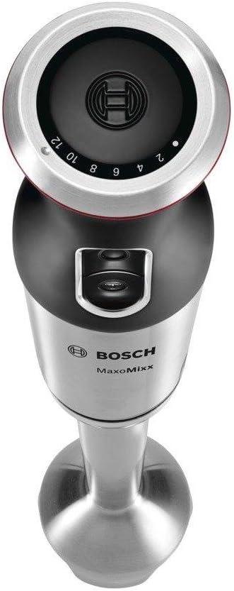 Bosch BATIDORA DE Mano MSM87130 750W,PIE INOX, 750 W, Plástico, 12 Velocidades, Negro, Acero inoxidable, Transparente: Amazon.es: Hogar