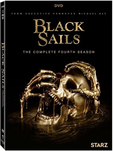 Black Sails Season 4 [DVD] (Black Sails Characters Based On Real Pirates)