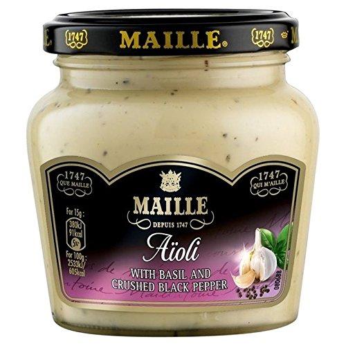 Maille 200g De Salsa De Alioli (Paquete de 6)