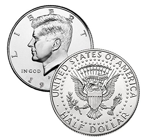 1987 P, D Kennedy Half Dollar 2 Coin Set Uncirculated