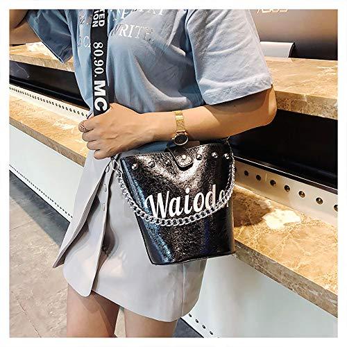 Viaje Handbag Mochila Vida De Desigual Sencillo Bandolera Fiesta Negro Bag Escuela A15 Bolso Mano Mujer Bolsos Trabajo Shoulder Para 6HHOZqd